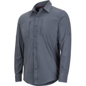 Marmot Trient - Camiseta de manga larga Hombre - gris